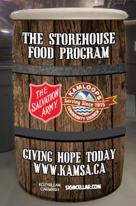 Storehouse Food Program Barrell